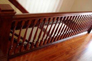 Купить деревянные поручни для лестниц