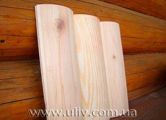 Купить блок-хаус деревянный (сайдинг. вагонку)