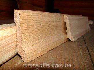 Купить плинтус деревянный оптом и в розницу в Киеве