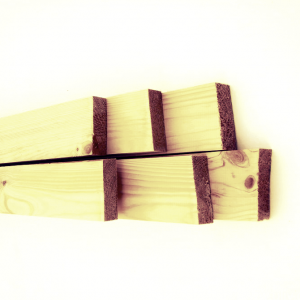Монтажная рейка строганная (<b>хвоя</b>) 2с, длина 1,7-3,0 м, размеры 20х50 мм