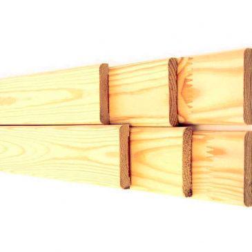 Акция! Купить наличник деревянный ЕВРО срощенный 13х110 мм 15 грн. 1 м.п.