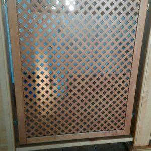 Декоративная решетка (<b>ольха</b>), размеры 70х150 см