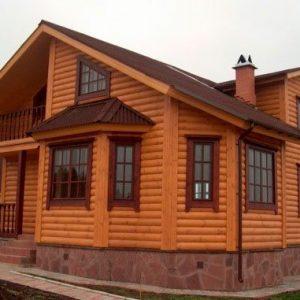 Монтаж блок хауса