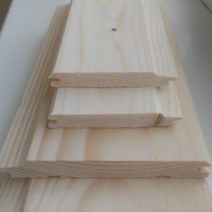 Вагонка ШТИЛЬ срощенная (<b>сосна</b>) 1-2с, длина 2,0-4,5 м, размеры 15х130 мм