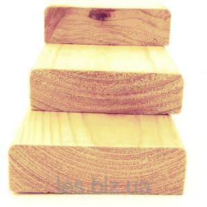Брусок сухой строганный (<b>хвоя</b>) 2с длина 1,7-3,0 м, размеры 40х50 мм