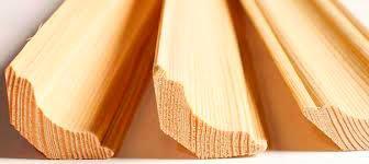 Плинтус «лодочка» (<b>сосна</b>) 2с, длина 1,7-3,0 м, размеры 32х32 мм