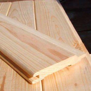 Вагонка ЕВРО (<b>сосна</b>) 1с, длина 0,5-0,9 м, размеры 13-14/ х80 мм