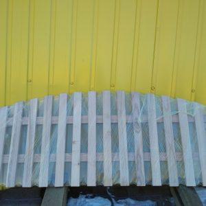 Заборчик садовый деревянный (хвоя) размер 50х1200 см