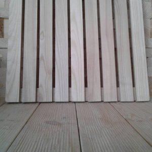 Садовый паркет (ясень, дуб) размер 50х50 см